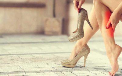 Consecuencias de utilizar zapatos de tacón por tiempos muy prolongados