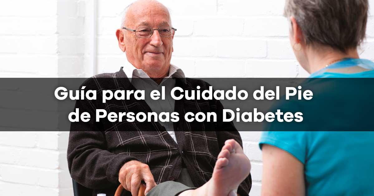 Guia para el Cuidado del Pie de Personas con Diabetes