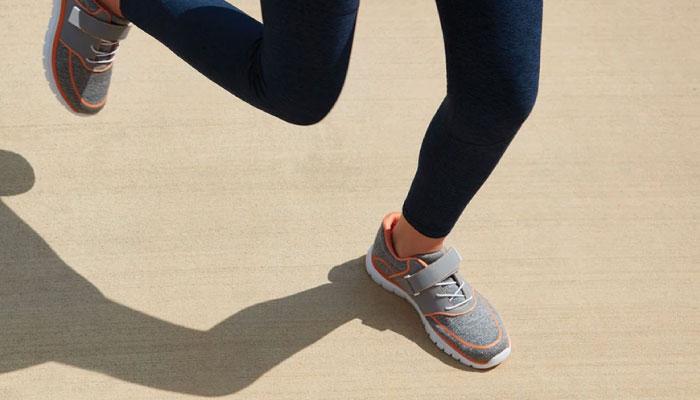Utiliza calzado adecuado para evitar lesiones