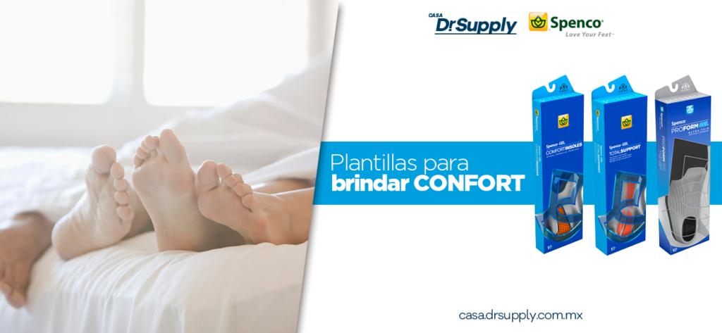 Plantillas para confort y descanso